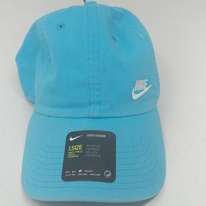 NWOT Blue Nike Womens Hat One Size Fits Most 1E